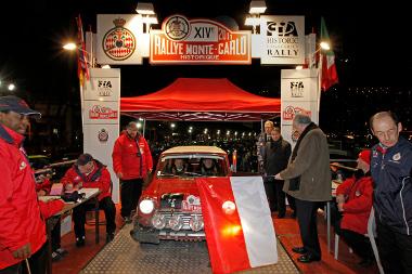 Február másodikán, a hajlani órákban ért célba Rauno Aaltonen-Helmut Artacker páros a Rallye Monte Carlo Historique elnevezésű veteránversenyen