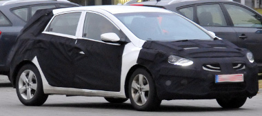 A fényszóró árulkodik arról, hogy ez itt az új Hyundai i30-as