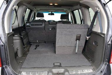 Hét üléssel kisautónyi a csomagtér, mely 2091 literesre bővíthető