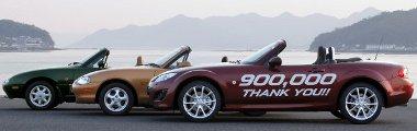 Az MX-5 a legnagyobb darabszámban értékesített kétüléses sportkocsi