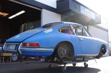 Bontás helyett az egyedi autó építést választotta a tulajdonos