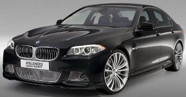 Fényezett tyúkráccsal talán még fickósabb lenne a Kelleners BMW 5-ös sorozatának megjelenése