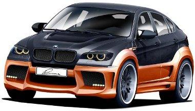 Európai vásárlóknak készül a narancs-fekete, dízel X6