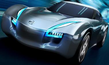 Nagyon harciasan néz ki, pedig lelke mélyén egy környezetbarát elektromos autó. Ami azért 5 másodperc alatt gyorsul 100 km/órára