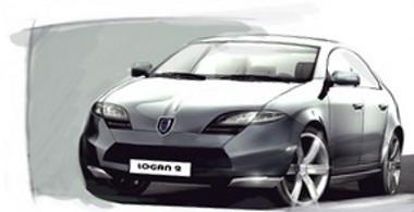Ennyire modern azért nem lesz az új Dacia Logan, ami 2012-ben kerül a kereskedésekbe