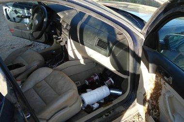 Négy sört és egy doboz hashajtót fogyasztott a ragadozó az autóba zárva