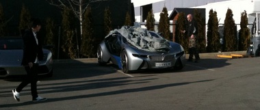 A BMW hibrid szuperautója szerepel a Mission Impossible 4-ben