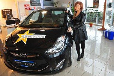 Tolvai Renáta fekete Hyundai ix20-ast kapott