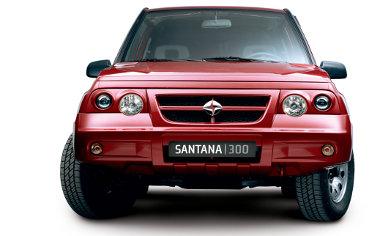 Nem igazán versenyképes a civil piacon az első generációs Vitarából készült Santana 300