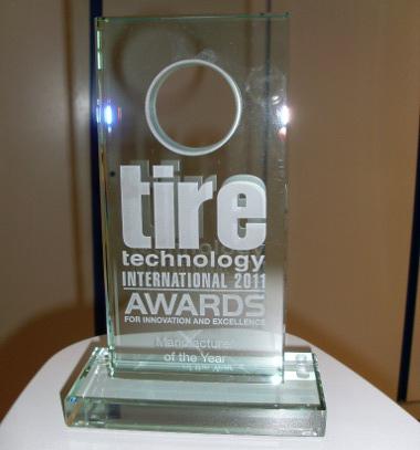 """A Hankook kapta a """"Nemzetközi gumiabroncs technológiai díj az innovációért és kiváló teljesítményért"""