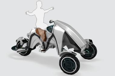 Lovaglóülésben kell vezetni a The Saddle nevű alternatív közlekedési eszközt