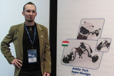 Tari Attila munkája tizedik lett a Michelin Challenge Design 2011-en