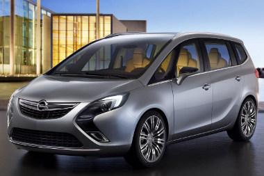 Fényképen még jobban néz ki az új Opel Zafira, mint hologramként