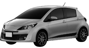 Ha nem lennének ott a légbeömlők a fényszóró mellett, akár Toyota is lehetne. Így valószínű, hogy az új Daihatsu Charade-dal van dolgunk