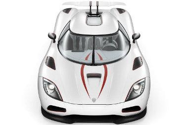 Koenigsegg Agera a sípályákhoz vezető utak új királya