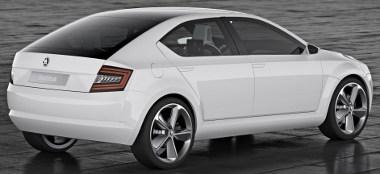 Normális hosszúságú és csomagterű kompakt autó a VisionD