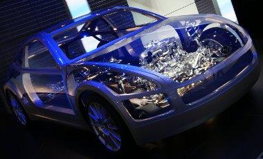 Csontvázként volt jelen a Subaru hátsókerékhajtású sportkocsija Genfben, de legakább a technika már benne volt