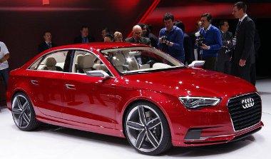 Akkora, mint egy A4-es, de RS-változatban jobban néz ki annál. Ez az új győri gyártású Audi
