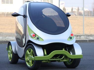 A franciák így képzelik a jövő városi közlekedési eszközét. Hazánkban valósították meg a Micront