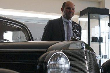 Friedrich Lixl szerint az idei év megkoronázása lesz a kecskeméti Mercedes