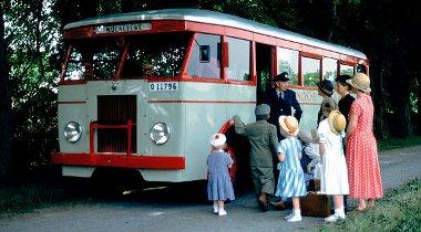 Száz évvel ezelőtt készült el az első Scania autóbusz