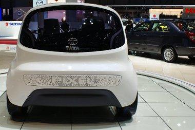 Hátra építik majd be az új Tata mikroautó motorját