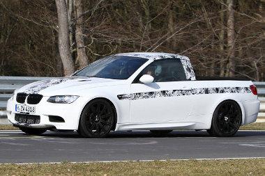 Áthangolják az M3 pickup utóművét a megváltozott súlyeloszlás miatt