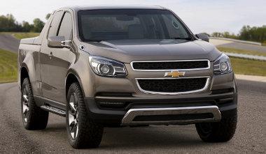 Thailföldön fogják gyártani az új Chevrolet pickupot. Négyhengeres dízelt kapott a tanulmány
