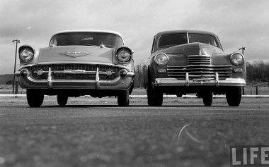 Már 1957-ben látható volt a szovjet ipar lemaradása - legalábbis ami az autókat illeti