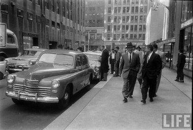 Pobjeda Manhattanben, 1957-ben. A Life magazin örökítette meg az eseményt