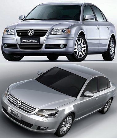 Passat Lingyu - Skoda Superb alapú VW, a frissítését már bemutatták, de még nem gyártják
