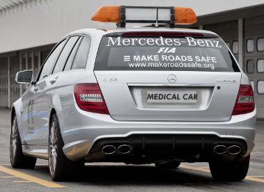 Remélhetőleg csak pályabejárásra használják majd idén az orvosi autót, nem lesz szükség az éles bevezésekre