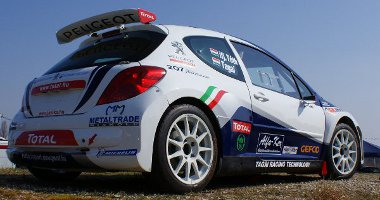 Az összes futamon indul majd a Peugeot-Total Rally Team, abszolút bajnoki címre hajtanak