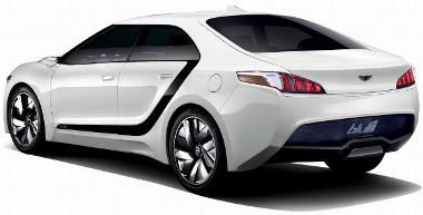 Pözsós-saabos hátulnézetből a forma, elöl meg a Nissan GT-R vonásait lehet felfedezni