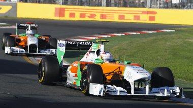 A Sauber kizárása után mindkét Force India pontszerző helyre lépett elő, s így Di Resta lett a legjobb újonc
