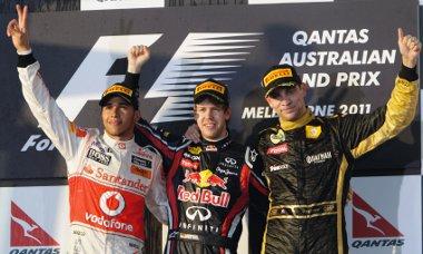 Vettelt tizenegyedik alkalommal intették le elsőként, Hamiltonnak ez a 37., míg Petrovnak az első dobogós helyezése