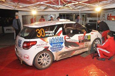 Jól vizsgázott a csapat, igaz, a karbantartáson kívül nem kelett a Citroen DS3 RS-hoz nyúlni
