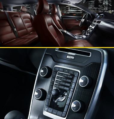 Áttervezik a lebegő középkonzolt, és új kárpitszínek is választhatóak lesznek a nagy Volvo személyautókhoz