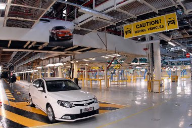 Április 13-án indul újra az MG gyártás Longbridge-ben