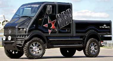 Nem szerény a Bremach T-Rex megjelenése, reklámhordozóként számíthat sikerre