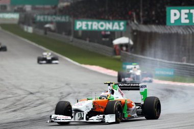 Rajtpozíciójához képest négy helyet lépett előre di Resta, így az újonc ismét pontszerző helyen végzett