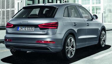 Audi szabadidő-autóhoz illően az egész hátfal felnyílik