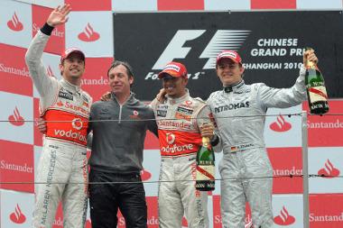 Tavaly Button diadalmaskodott Kínában, idén már érik az első McLaren futamgyőzelem