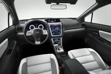 Hagyományos középkonzolt kap majd az új Impreza sorozatgyártású változata