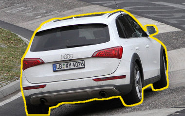 A karosszéria félrevezetés, ez már az új Porsche Cajun