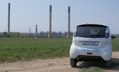 Hő- és atomerőműből származik a C-Zéro-t hajtó elektromosság - tisztának tehát nem nevezhető