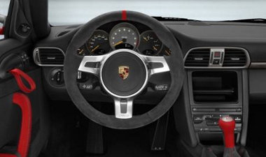Spártai a 911 GT3 RS 4.0 belseje