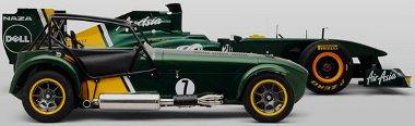 Eredetileg a Lotus márkát akarta megszerezni Tony Fernandes, helyette be kell érnie a Super 7 gyártási jogokat birtokló Caterham-mel