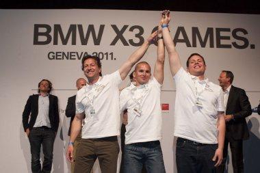 Majthényi Szabolcs, Vatai Miklós és Baksay-Szabó Ádám, a BMW X3 Games győztes csapata