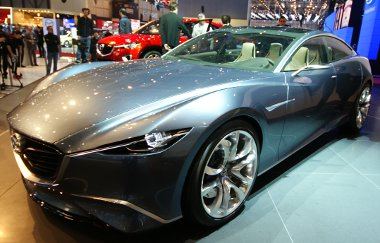 Hasonló stílusú lesz, ha nem is pont ilyen a Mazda6 utóda